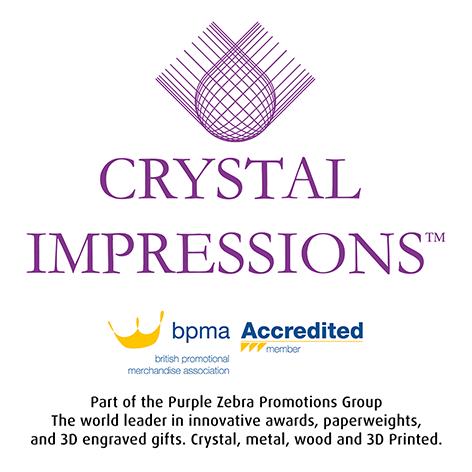 Crystal impressions logo